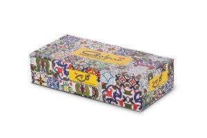 دستمال کاغذی 100 برگ دو لایه چاپدار ترنج
